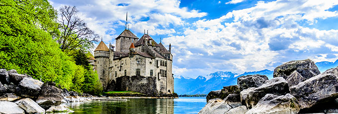 Montreux Castle Switzerland