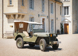 Private Half Day Vintage Jeep Tour from Bayeux - 1:00pm